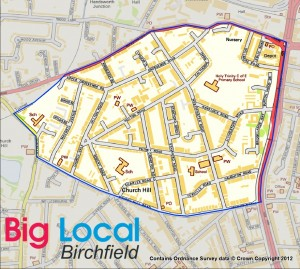 Birchfield Big Local Map