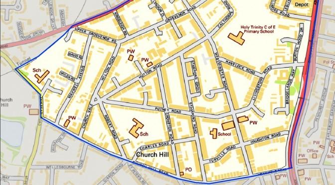 Birchfield Big Local Map