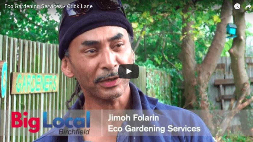 Eco gardening services birchfield big local for Local gardening services