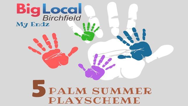 5 Palm Summer Playscheme 2018