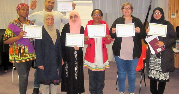 Play course participants with certificates