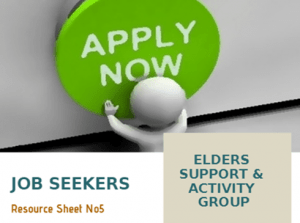 Elders Group - Resources Sheet (Job Seekers)
