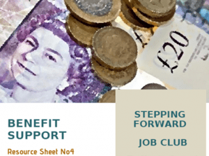Job Club - Resources Sheet (Benefit Support)