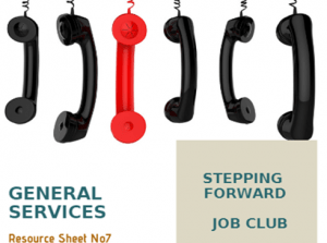 Job Club - Resources Sheet (General Services)