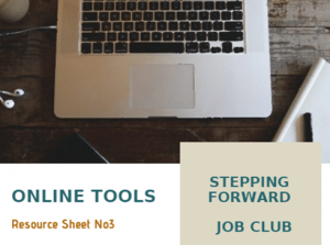 Job Club - Resources Sheet (Online Tools)