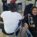 Xmas Event - 2018 - Attendees enjoy musical chairs