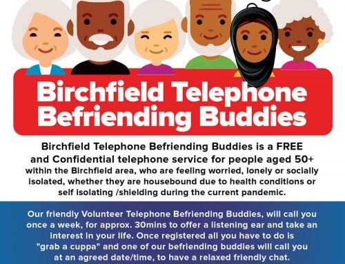 Telephone Befriending Buddies