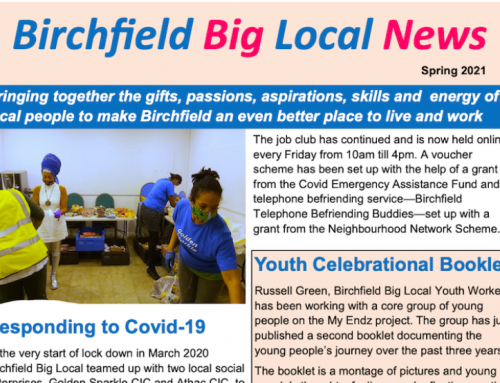 Birchfield Big Local News – Spring 2021