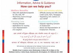Benefits Advice in Birchfield