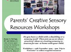 Creative Sensory Resources Workshops